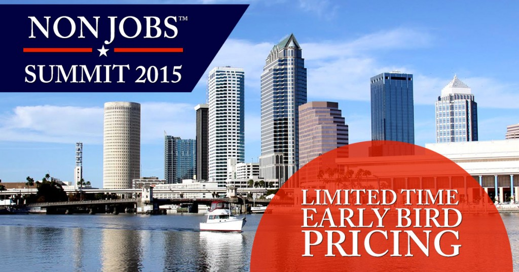 NonJobs Summit 2015 | Elliott Hulse Events