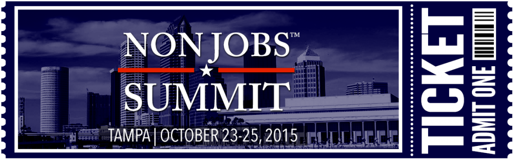 NonJobs Summit 2015 Grab Your Ticket Now